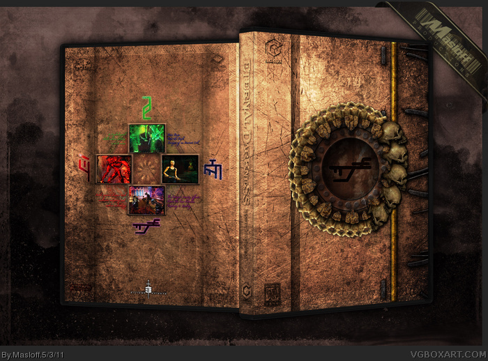 GameCube » Eternal Darkness: Sanity's Requiem Box Cover