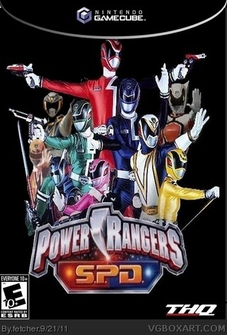 Power Ranger SPD box art cover