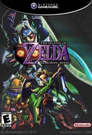 The Legend Of Zelda Majoras Mask For Gamecube 84