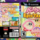 Kirby's Epic Yarn Box Art Cover