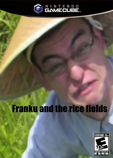 Franku and the rice fields box art cover