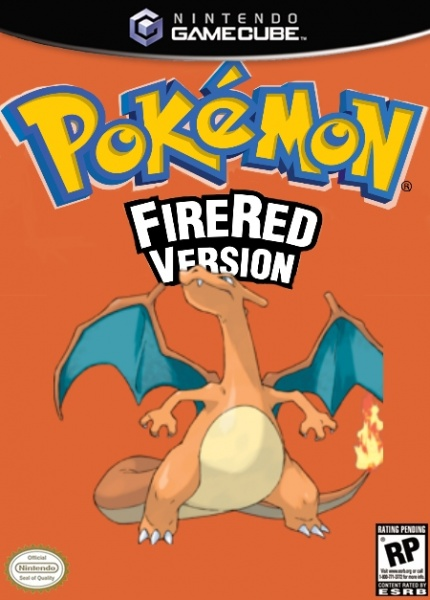 Pokemon Fire Red Version box cover