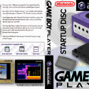 Gameboy Player Startup Disc Box Art Cover
