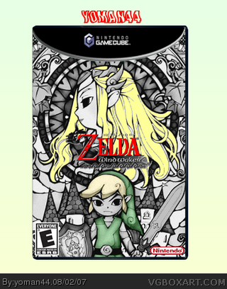 The Legend of Zelda: The Wind Waker box cover