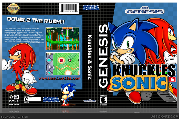 Sonic & Knuckles Box Cover Comments
