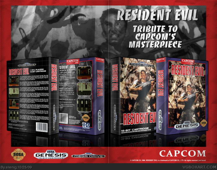 Resident Evil box art cover