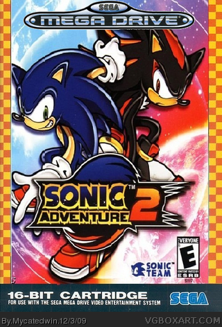 Sonic Adventure 2 box cover