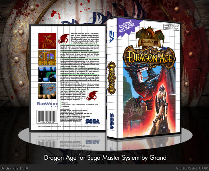 Dragon Age box art cover