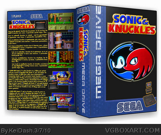 Sonic & Knuckles box cover