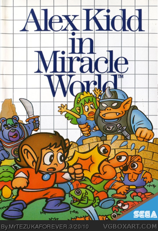 Genesis » Alex Kidd In Miracle World Box Cover