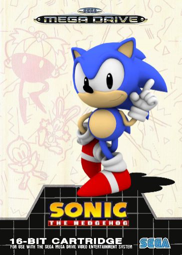Sonic the Hedgehog Remake box cover