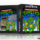 Teenage Mutant Ninja Turtles Meet Sonic Box Art Cover