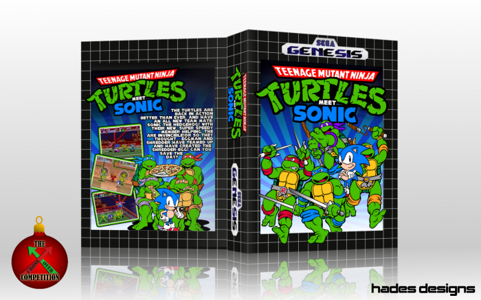 Genesis » Teenage Mutant Ninja Turtles Meet Sonic Box Cover ? ?