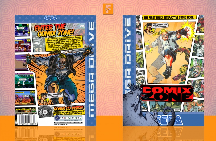 Comix Zone box art cover