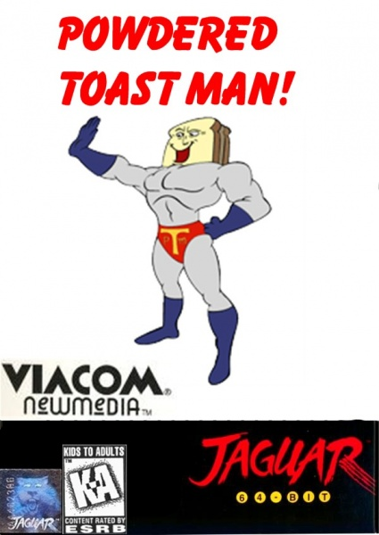 Powdered Toast Man box cover