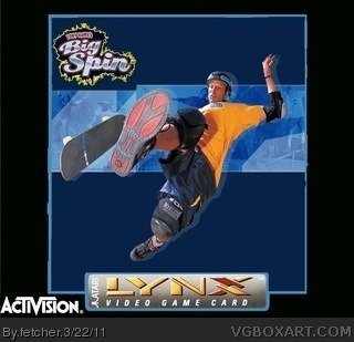 Tony Hawk's Big Spin box art cover