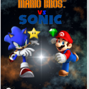 Mario Bros. Vs Sonic Box Art Cover