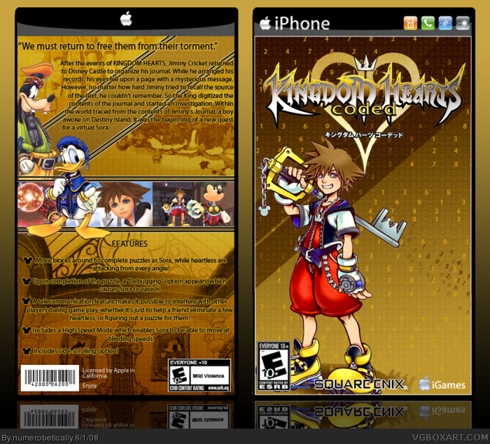 kingdom hearts coded android