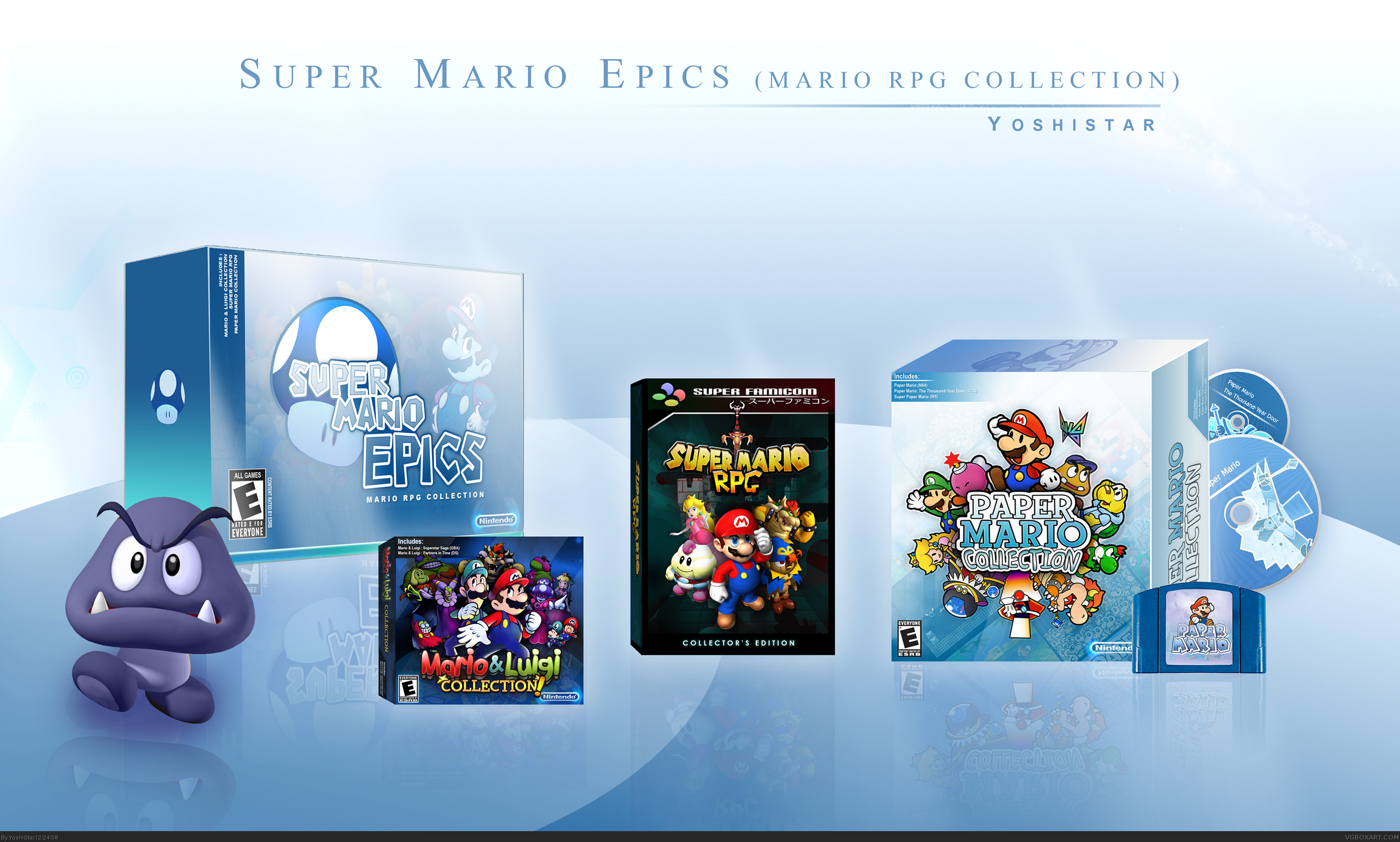Super Mario Epics box cover