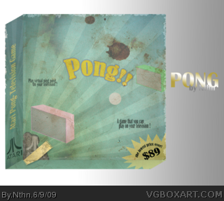 Pong box cover