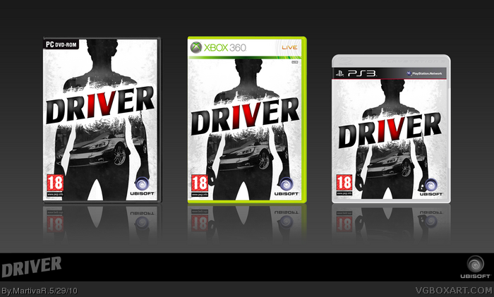 Driver IV box art cover