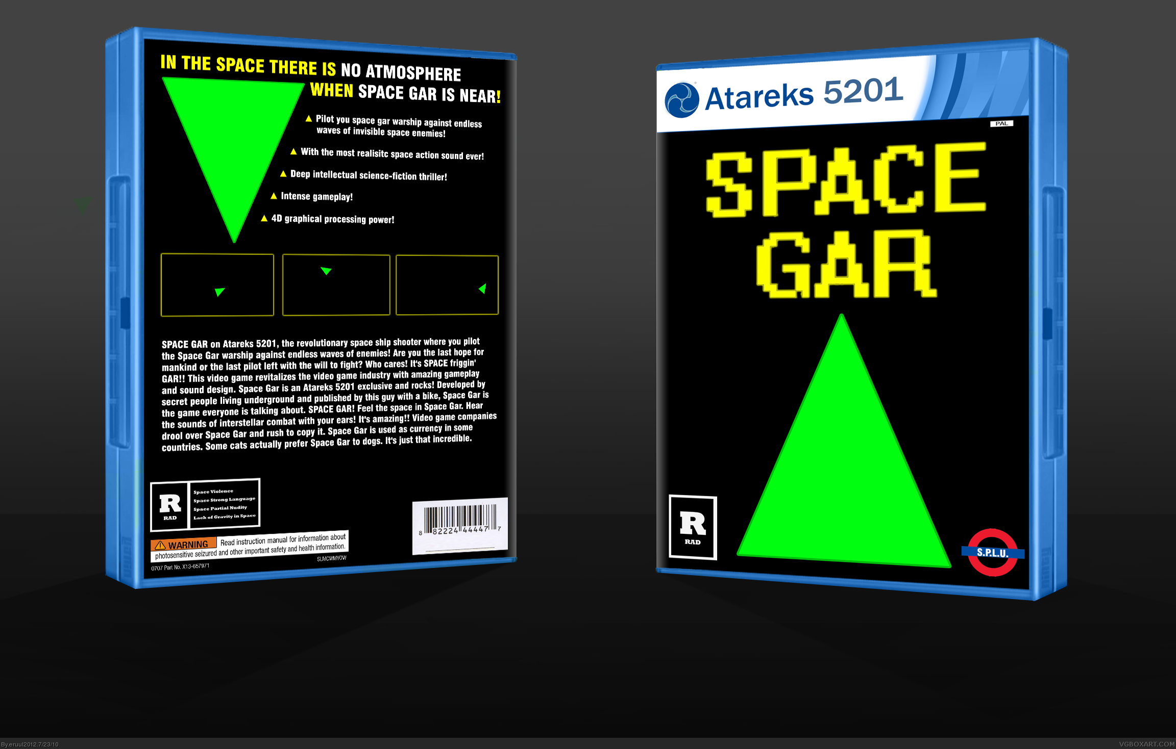 Space Gar box cover