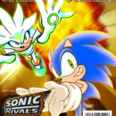 GAMEINFORMER (Sonic Rivals) Box Art Cover