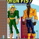 Power Man and Iron Fist: The Animated Series Box Art Cover