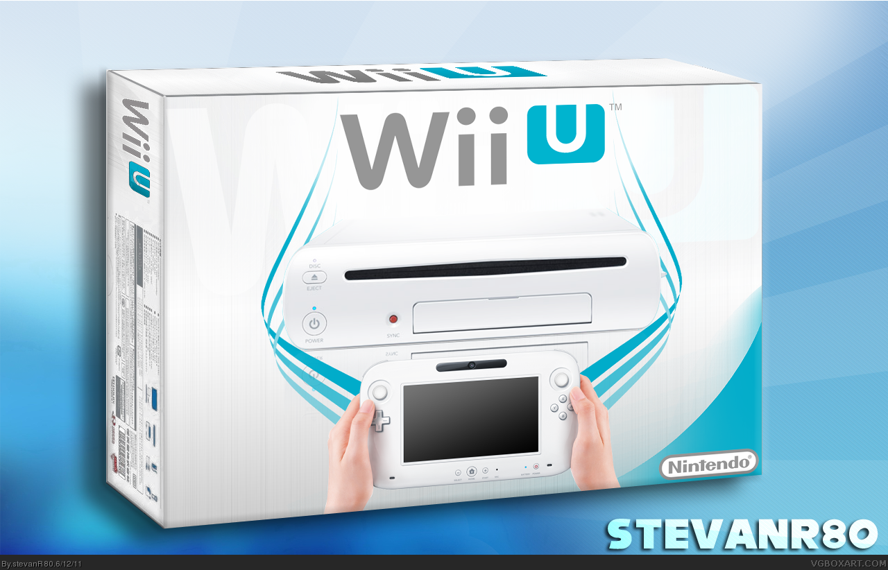 Viewing full size Wii U box cover