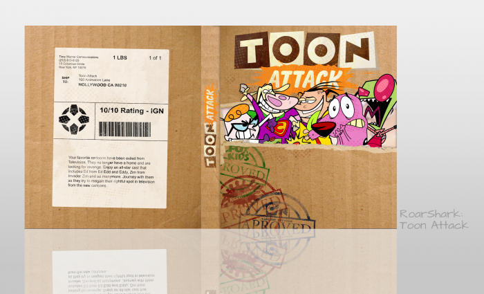 Toon Attack box art cover