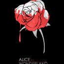 Minimalist Poster : Alice in Wonderland Box Art Cover