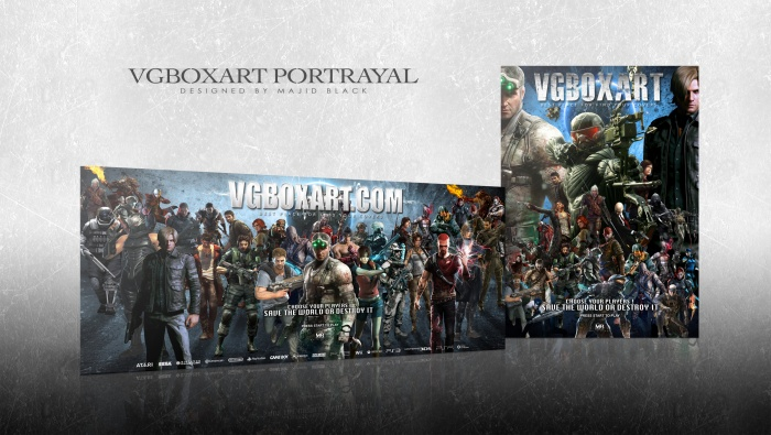 VGBOXART Portrayal box art cover