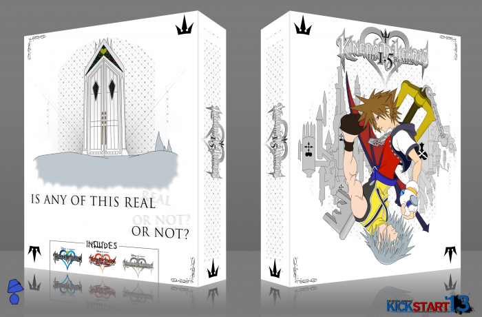 Kingdom Hearts HD Remix 1.5 box art cover