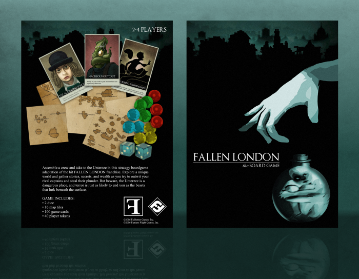 Fallen London: The Board Game box art cover