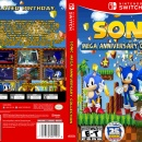 Sonic Mega Anniversary Collection Box Art Cover