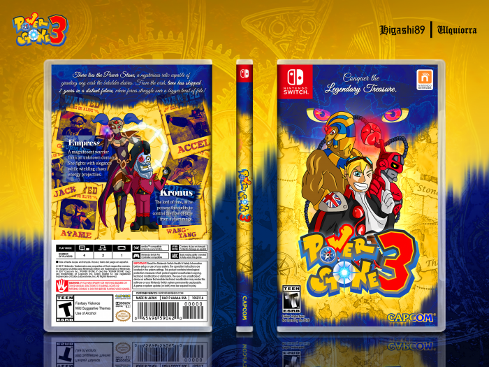 Power Stone 3 box art cover