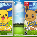 Pokemon Let's Go Box Art Cover