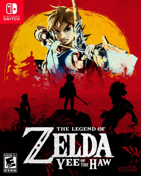 The Legend of Zelda: Yee of the Haw box art cover