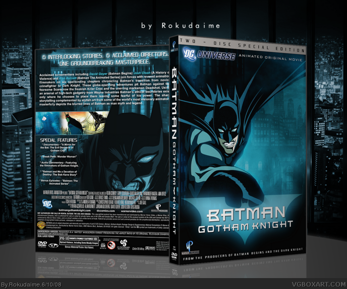 Batman: Gotham Knight box art cover