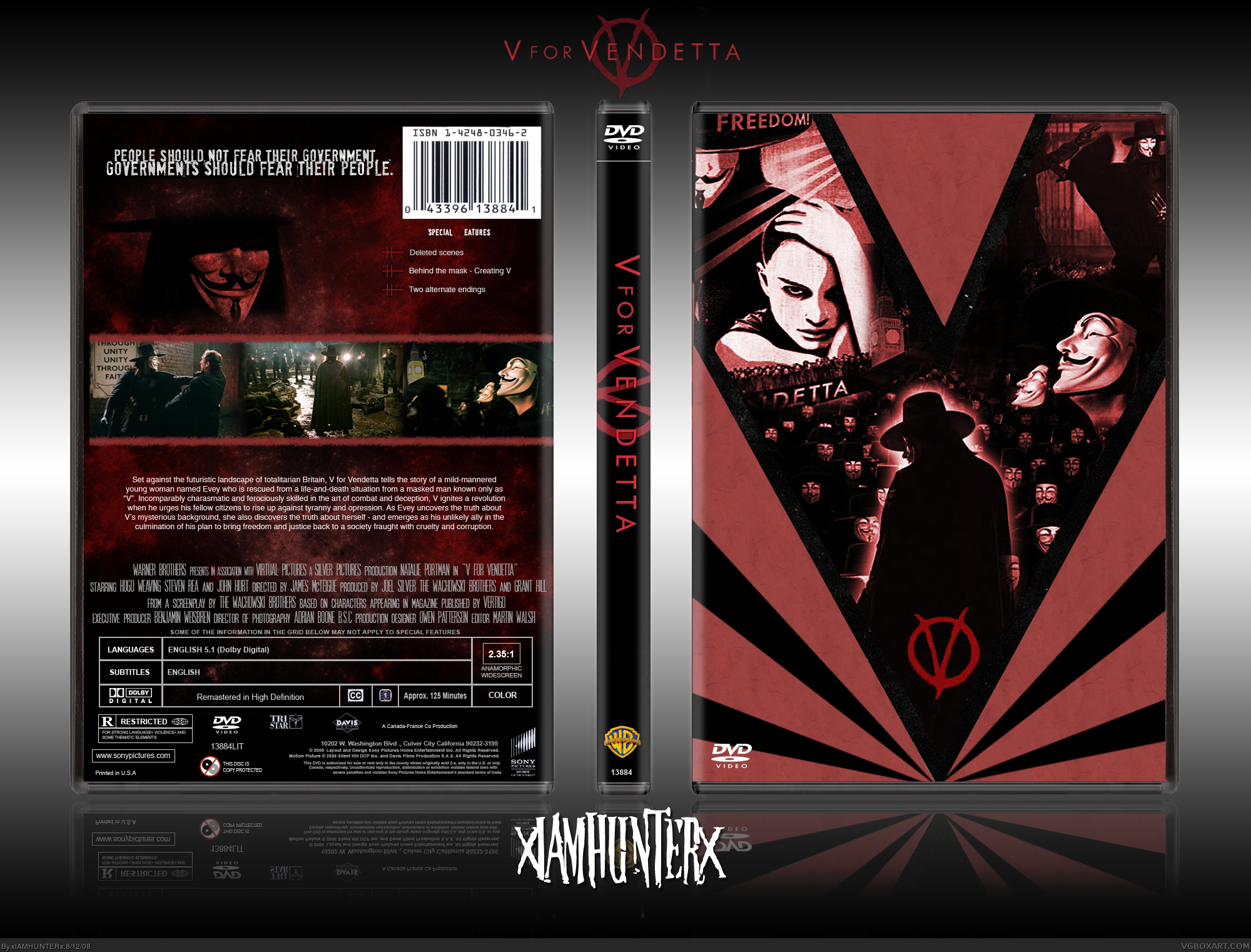 V For Vendetta Movie Cover V for Vendetta Movies ...