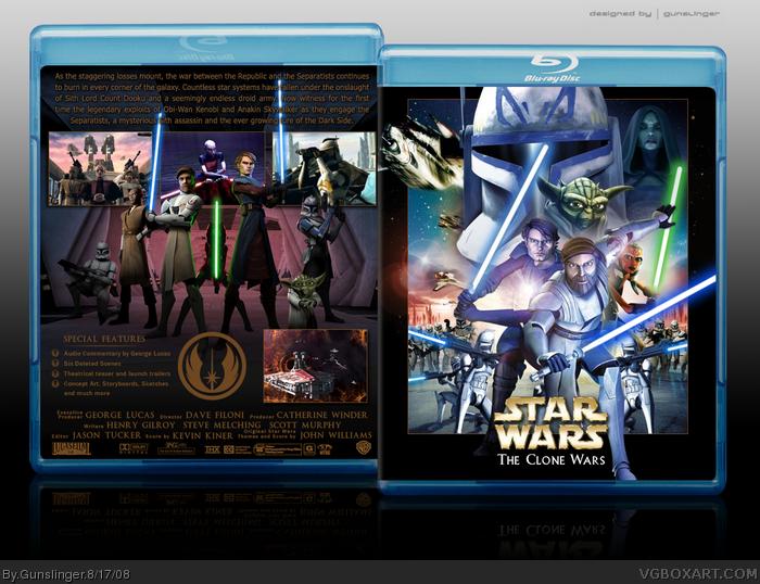 Star Wars The Clone Wars Movie Dvd Star Wars The Clone Wars Box