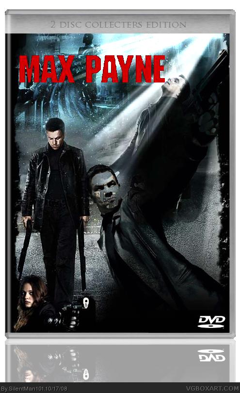 Max Payne Movies Box Art Cover by SilentMan101   495 x 810 png 461kB
