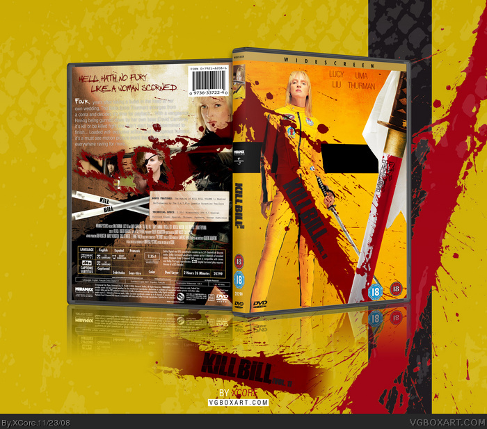 Kill Bill Vol. 1 box art cover