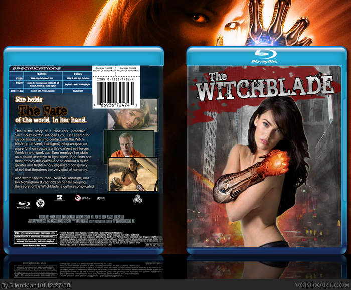 Witchblade box art cover