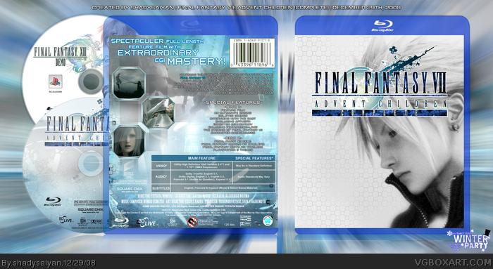 Similar galleries: final fantasy 7 advent children poster , final