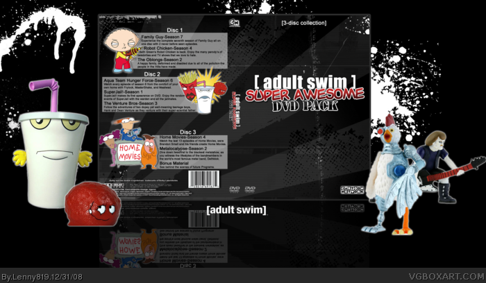 Adult swim dvd