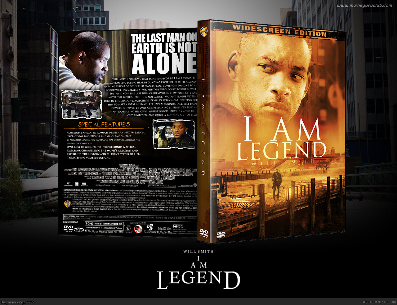 Viewing full size I am Legend box cover