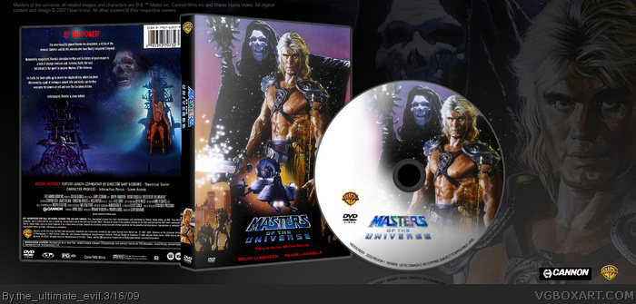 Master Universe Movie Masters of The Universe Box