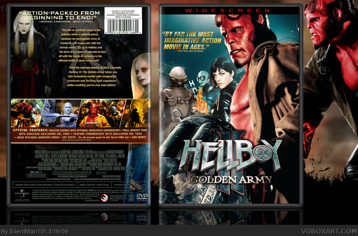 Movies » hellboy ii: the golden army box cover