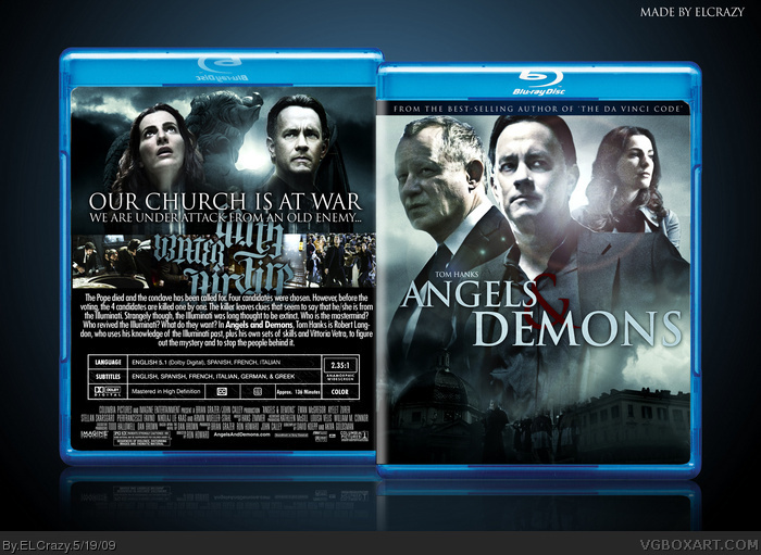 Angels & Demons box art cover